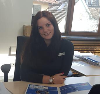 Katharina Lütje, Auszubildende 2. Lehrjahr