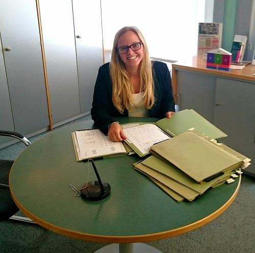 Anja Schuster, Auszubildende 3. Lehrjahr